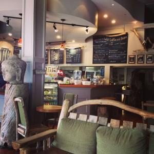 ビクトリアのコーヒーショップ