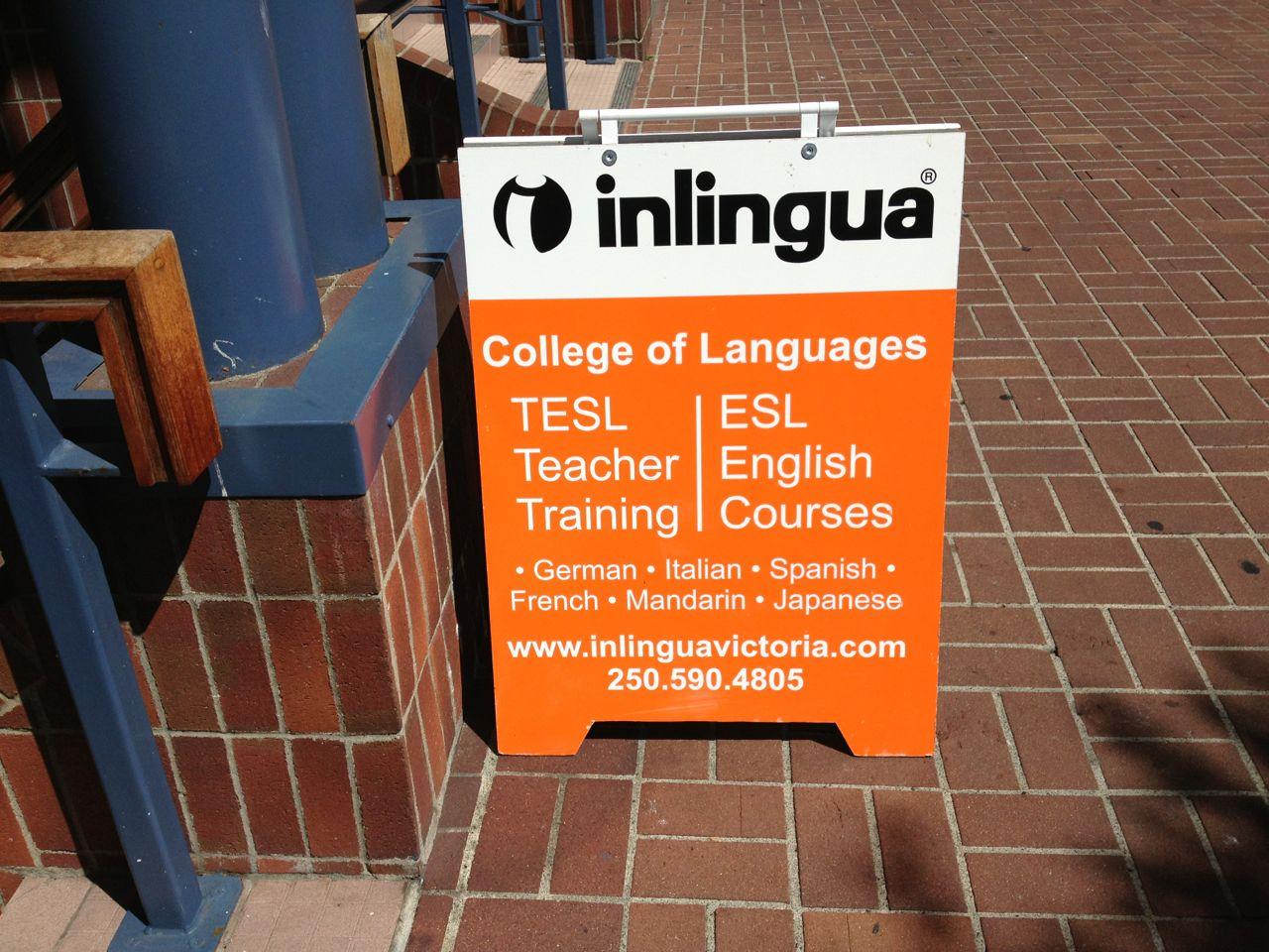 カナダ ビクトリアの語学学校Inlingua