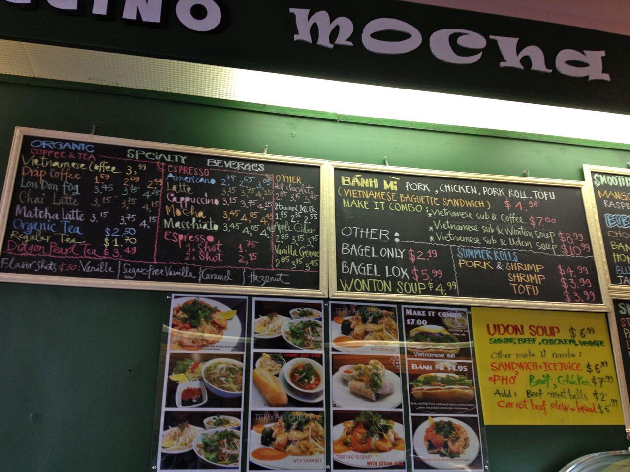 ビクトリアのダウンタウンにあるベトナミーズコーヒーショップ、Malea