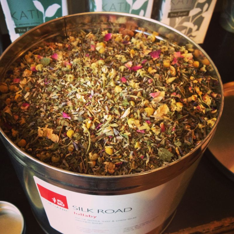 ビクトリアのお茶屋さんSilk Road Tea