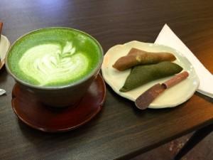 ビクトリアの抹茶カフェ、JagaSilk