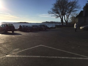 Willows beach parking