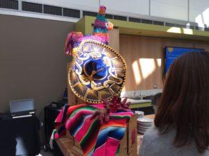 メキシコ料理のディスプレイ