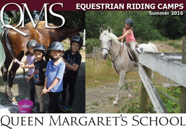 クイーンマーガレットスクール 乗馬サマーキャンプ