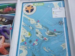 近くの島の地図